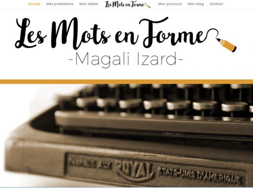 Magali Izard – Écrivain public
