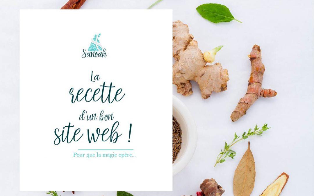 La recette d'un bon site web