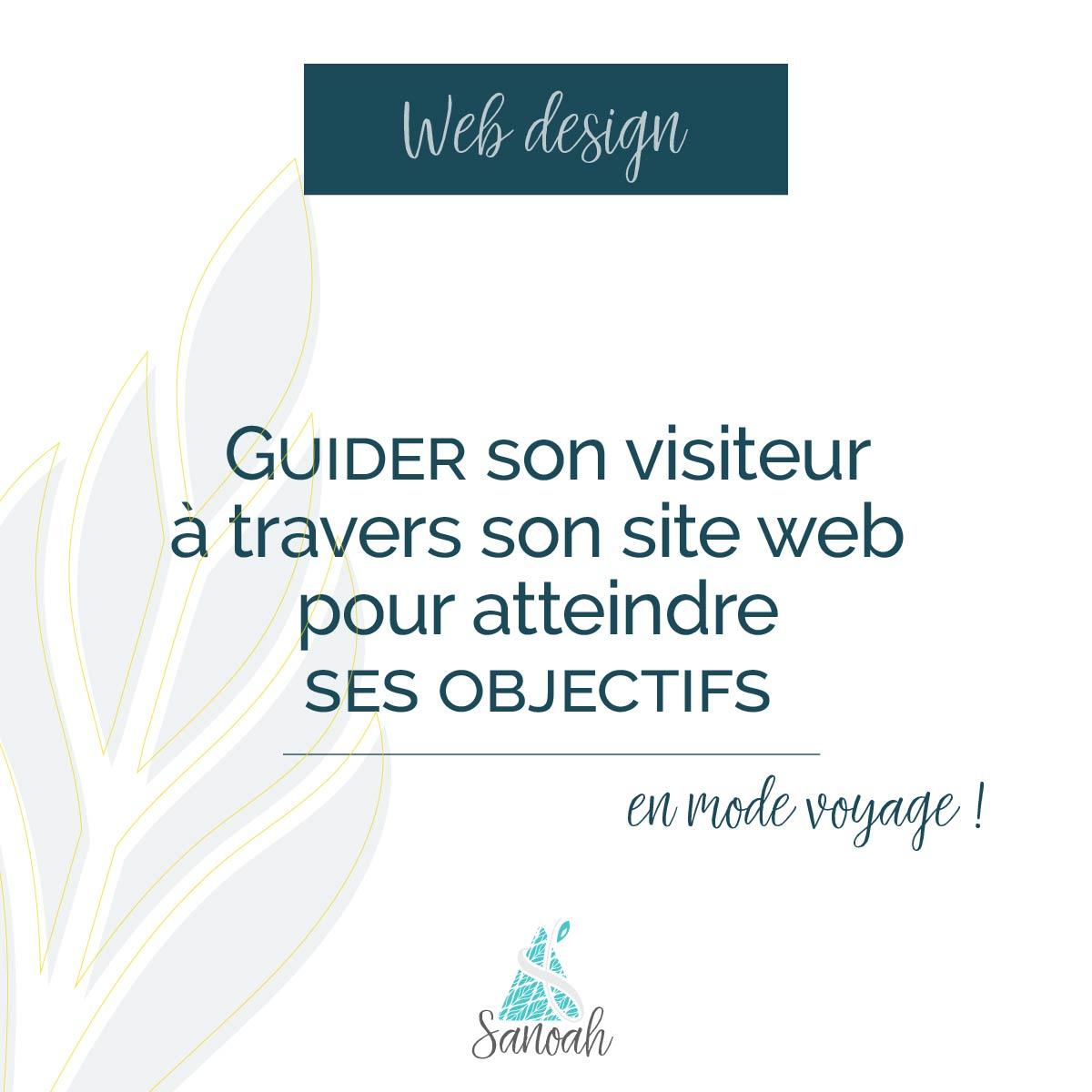 Guider son visiteur à travers son site