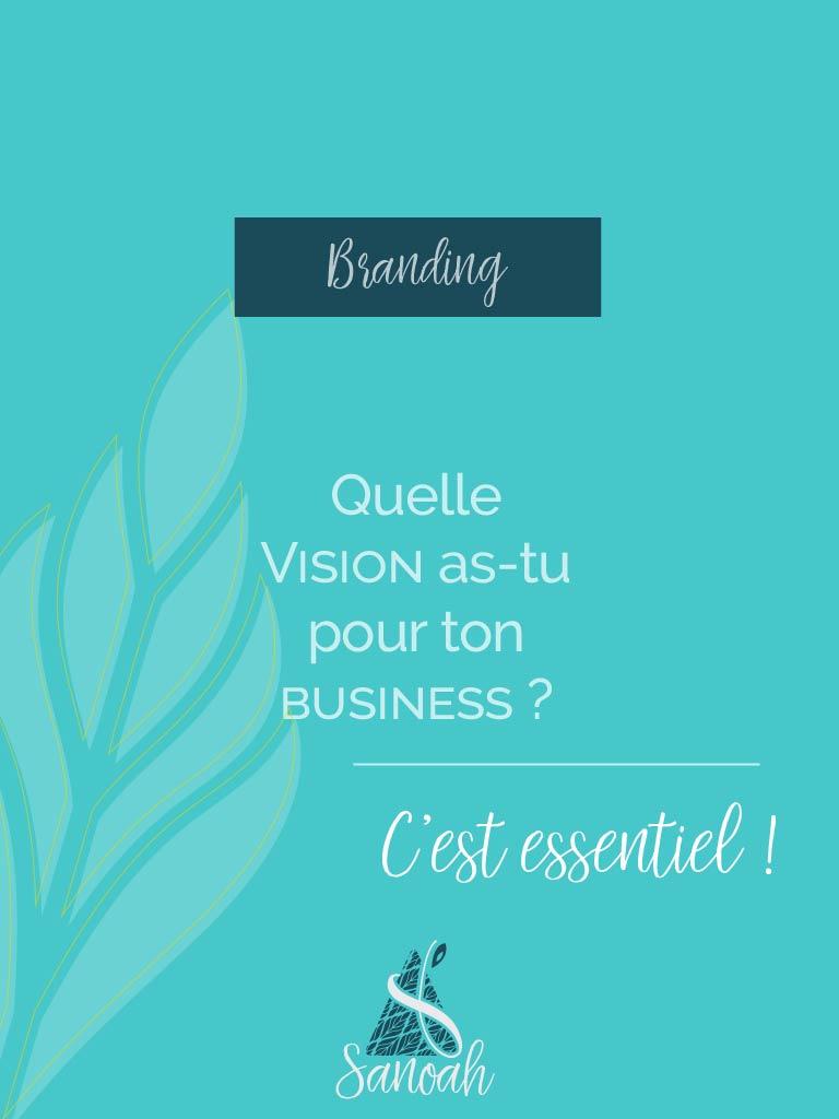 quelle vision pour ton business