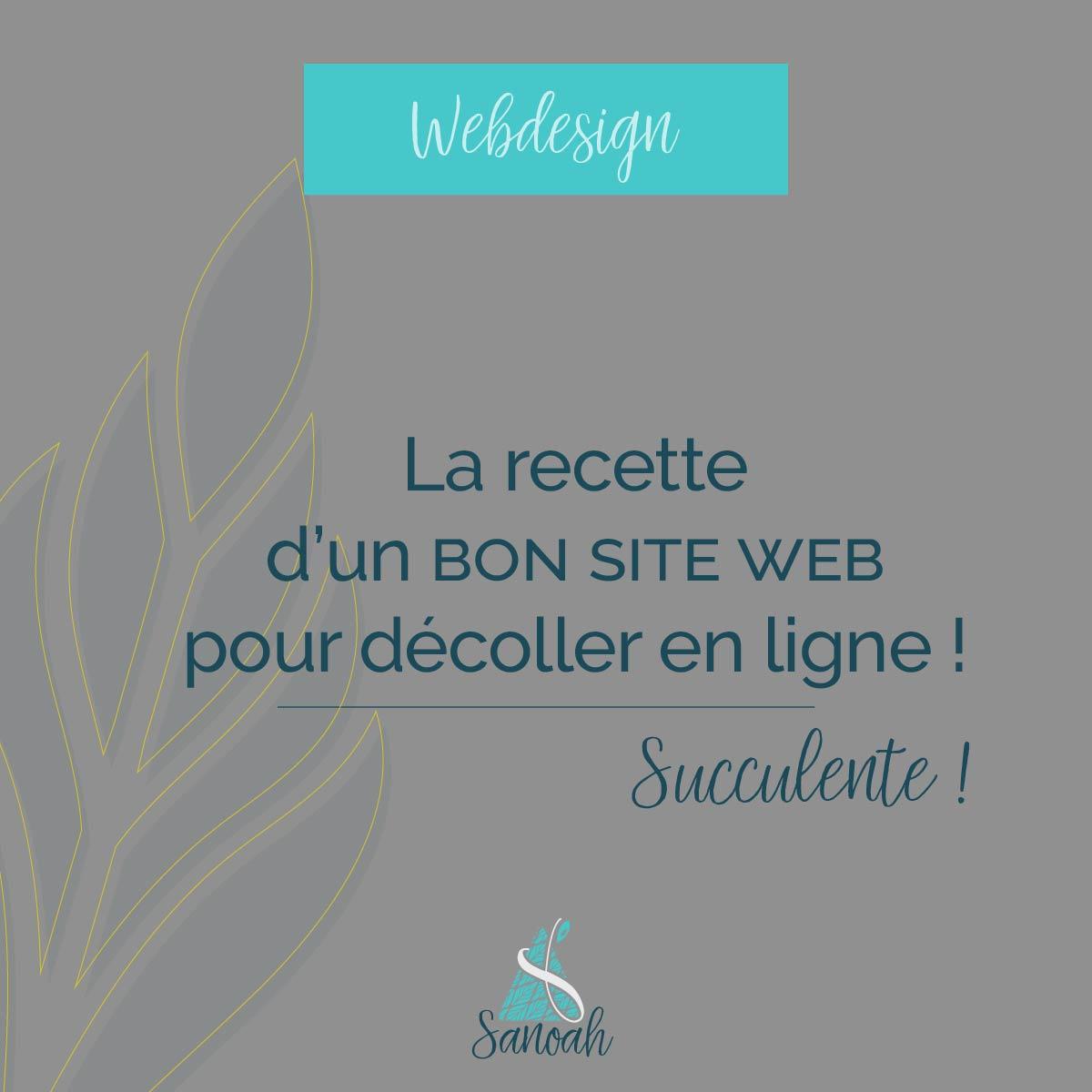 recette d'un bon site web_