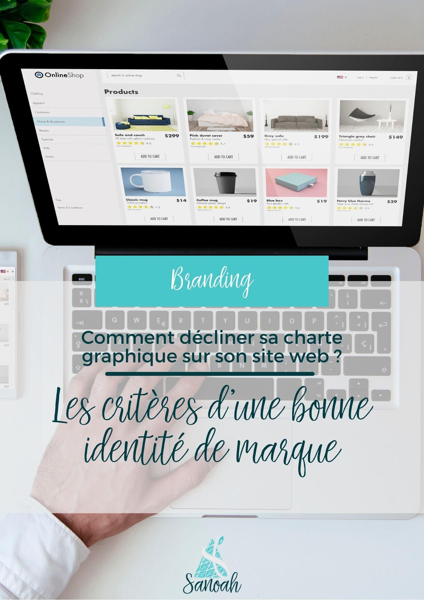 Comment décliner sa charte graphique sur son site web_Les critères d'une bonne identité de marque