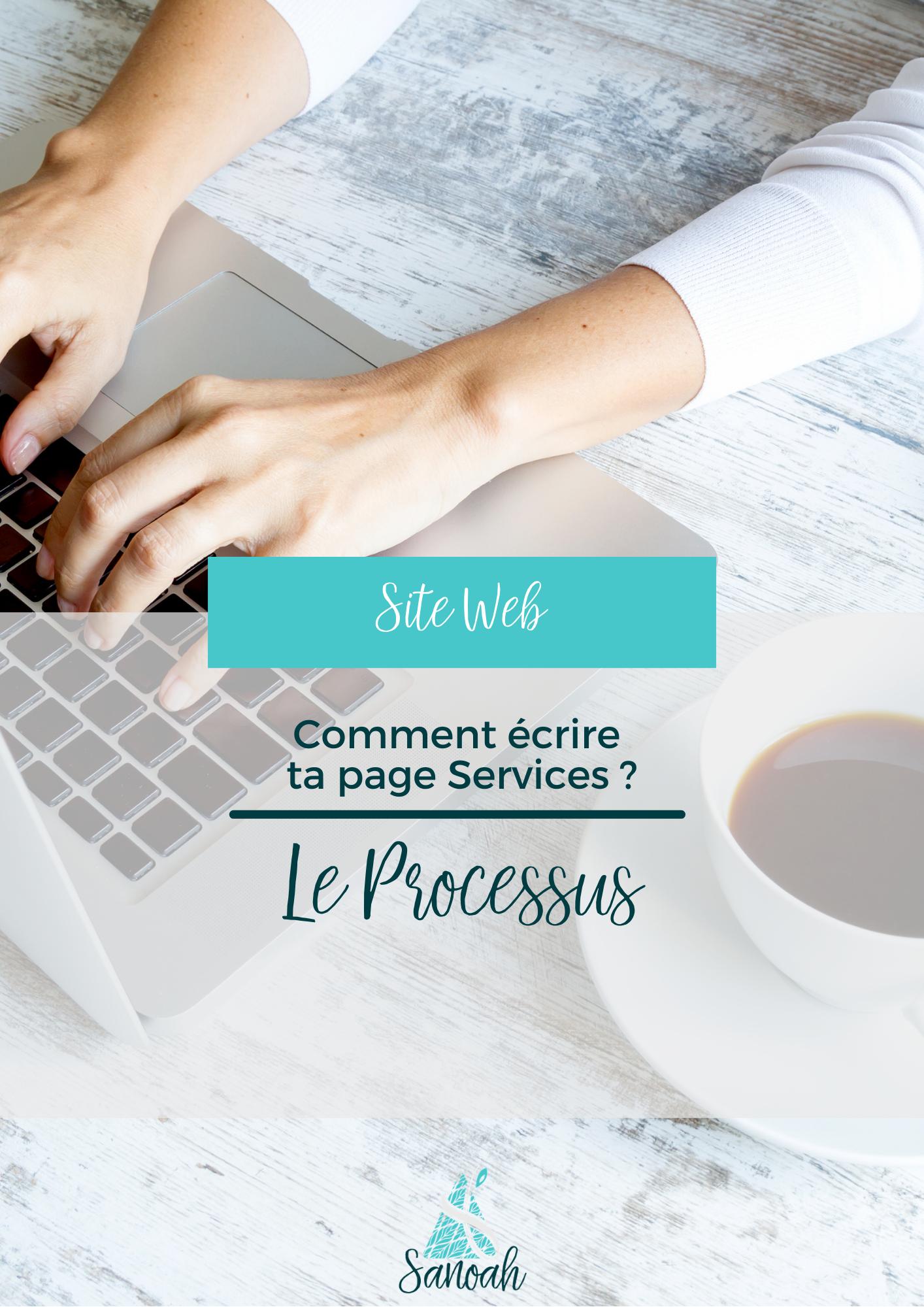 Comment écrire ta page Services_Le processus