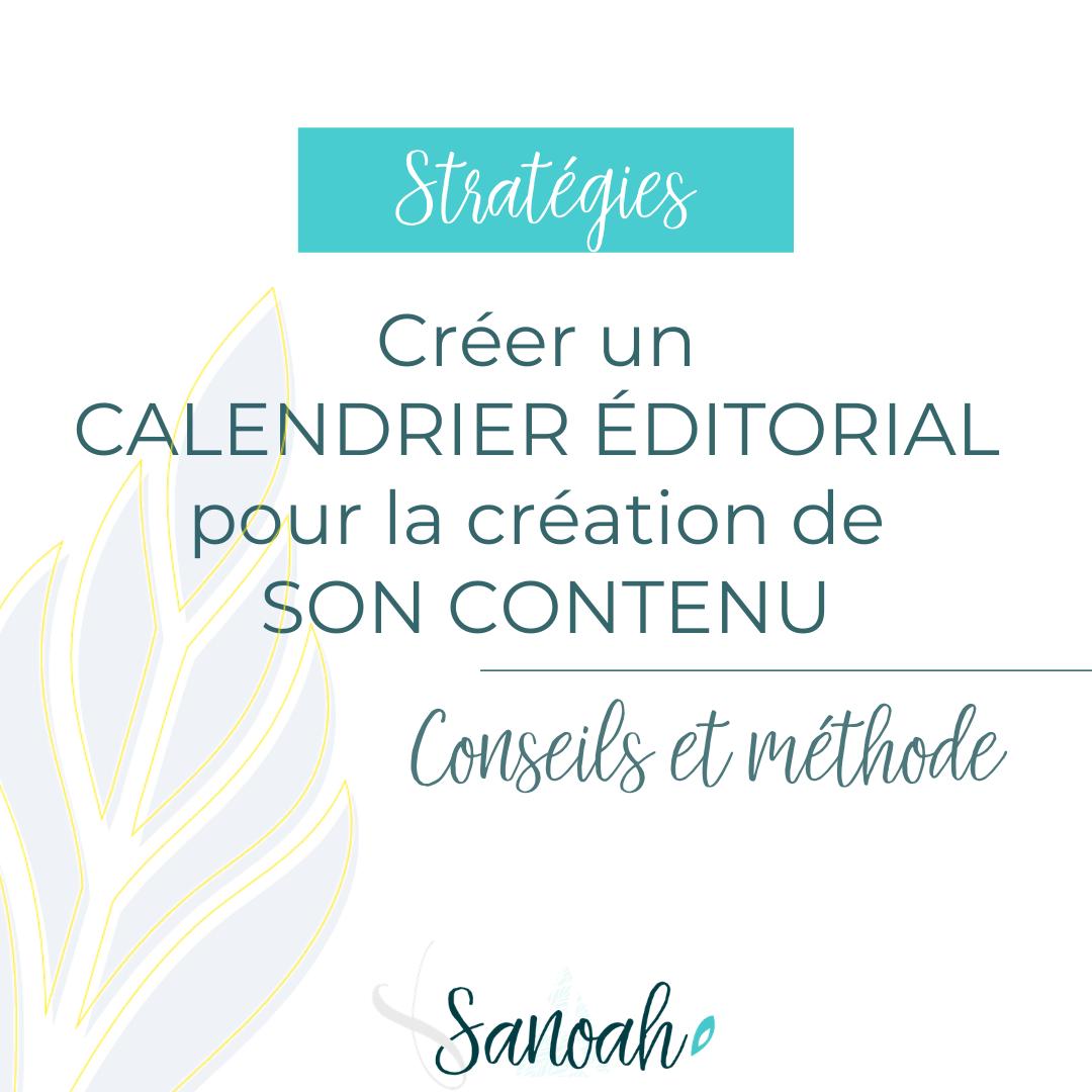 Créer un calendrier éditorial pour la création de son contenu